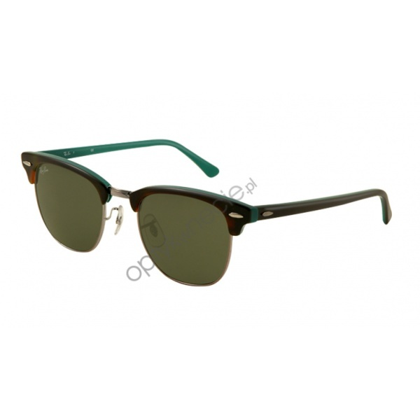 #RayBan #okulary #przeciwsłoneczne:: #Clubmaster rb 3016 col. 1127 49/21