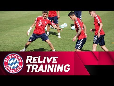 ReLive | First FC Bayern Training Session w/ James Rodríguez - VER VÍDEO -> http://quehubocolombia.com/relive-first-fc-bayern-training-session-w-james-rodriguez   	 Relive the first FC Bayern training session with new signing James Rodriguez at Säbener Straße (first 15 minutes)! // German commentary! ► Get your James jersey now: ► For US user:  Subscribe: Facebook: Twitter: Instagram: Snapchat: Website: FC Bayern.tv: FC Bayern.tv live: 	 Créditos de...