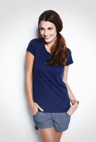 T-Shirt Básica Flamê Annecy Azul - MyBasic