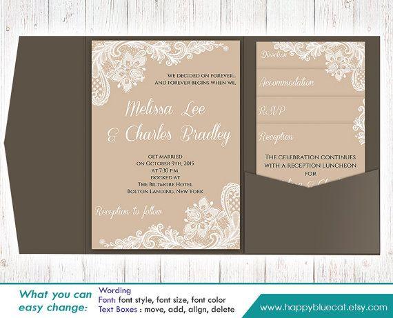 404 Best Diy Wedding Templates Images On Pinterest Diy Wedding