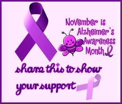 November Is Alzheimers Awareness Month  awareness november alzheimers awareness month