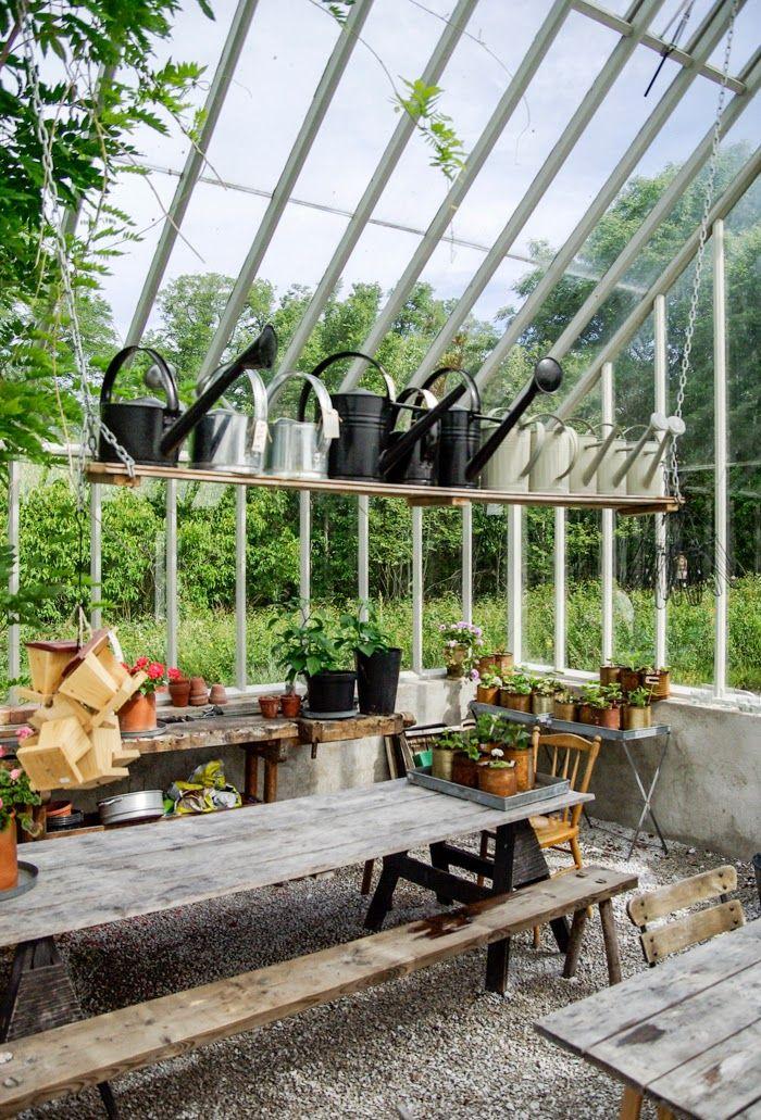 Tarja's Snowland, garden house, pergola, green house, gardening