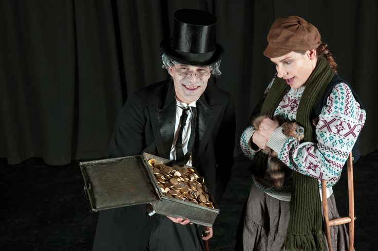 Die Weihnachtsgeschichte von Charles Dickens- interaktives Kindertheater für die ganze Familie!