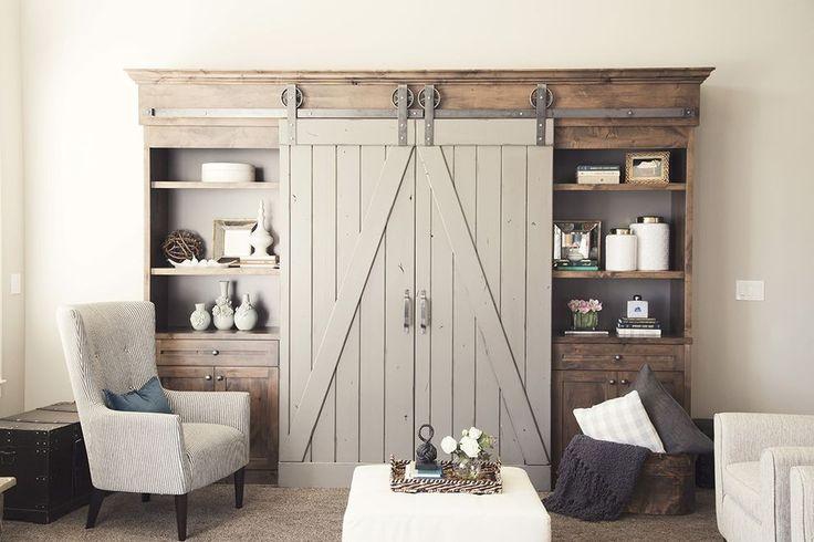 176 best images about doors on pinterest front door for Barn doors to separate rooms