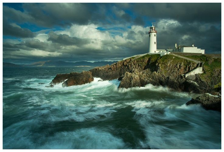 Fanad Head Lighthouse, County Donegal, Ireland by Andy McInroyLights House, Ireland Landscapes, Dreams Vacations, Fanad Lighthouses, Donegal Ireland, Fanad Head, Head Lighthouses, Landscapes Photography, Ireland Travel