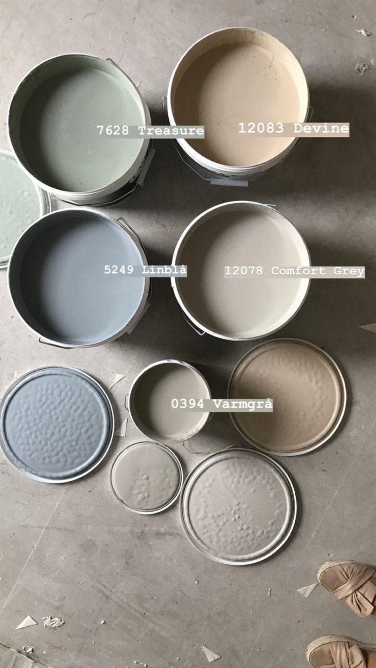 Fargepalett Til Nytt Hus Med Jotun Lady 2019 Studio Lindhjem In 2021 Paint Colors For Home Jotun Lady Colorful Interiors