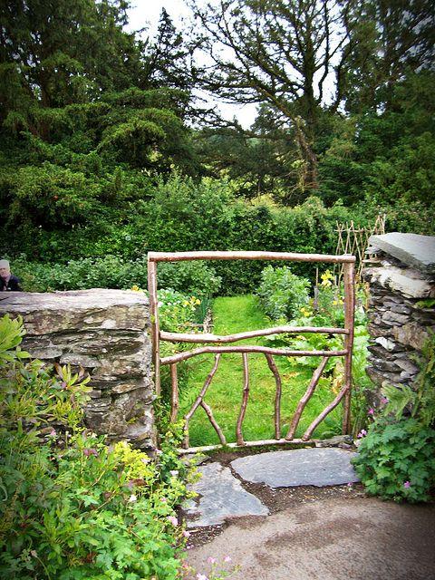 Gorgeous Gate! to Mr. McGregor's Garden