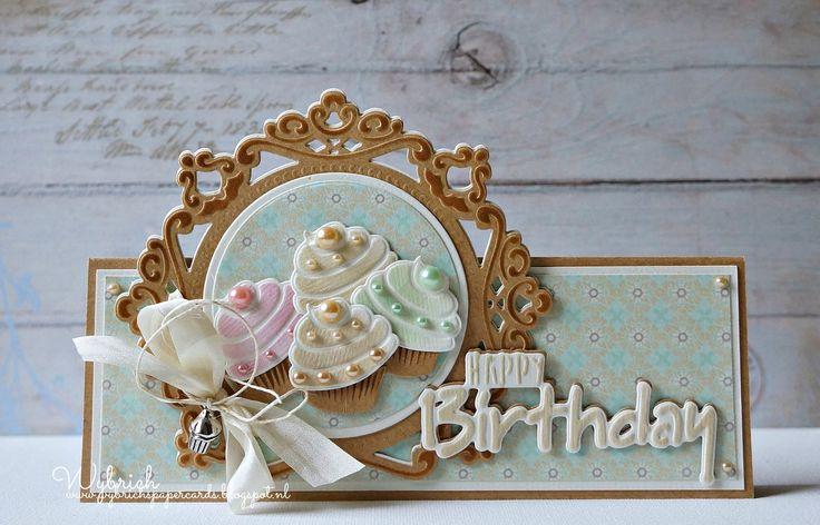 Cards made by Wybrich: Happy Birthday