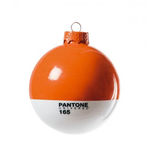 Set of 4 Pantone® baubles in PMS 165 - the tdo brand colour! £23.00