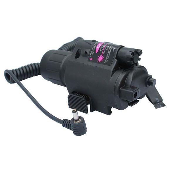 Red Laser Sight Dot Scope 3W LED Taschenlampe Combo Tactical Picatinny 20mm Schienenmontage Verkauf - Banggood.com