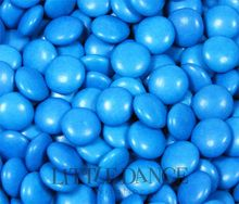 500 gram (half kilo) bags of Blue chocolate beans for kids birthday parties, weddings, chocolate party favors & lolly bags. For sale online in Australia – Australian website.