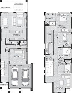 11 best mesda steam shower images on pinterest for Modern family house floor plan