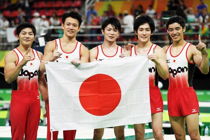 体操男子団体、逆転で3大会ぶりの金メダル - gorin.jp #体操 #リオ五輪