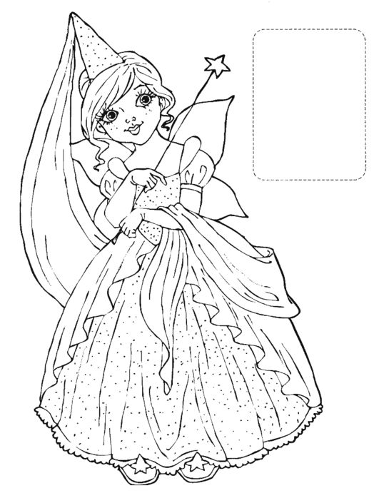 farytale princess coloring pages - photo#16