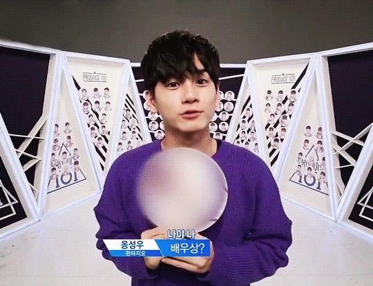 Ong Seongwoo // Produce 101 Season 2