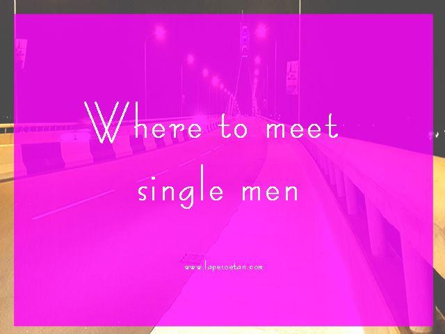where to meet single men