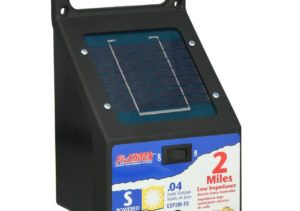 Solar Powered Electric Fence Kit For Horses