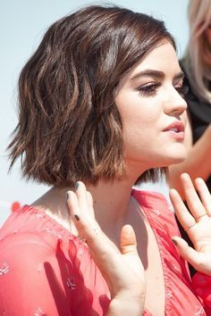aria montgomery short hair - Google Search                                                                                                                                                      More