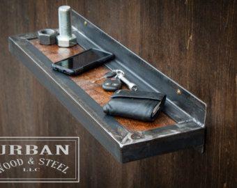 Custom Steampunk Salon/ Barber Station by urbanwoodandsteel