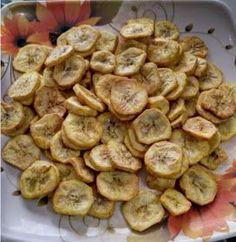 Veg Airfryer Recipes: Banana Chips in Airfryer