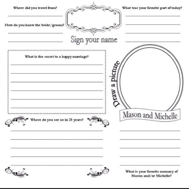 15 Best Wedding Guest Book Ideas Images On Pinterest | Wedding