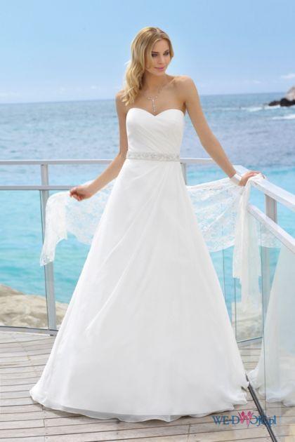 Suknia ślubna - model Suzy
