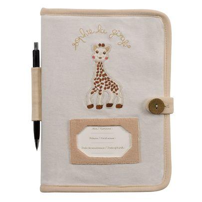 Protège carnet de santé So'Pure Sophie La Girafe Vulli