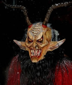 5th December. The day of the Krampus, an alpine mythological creature who accompanies Saint Nicholas to punish children who weren't well-behaved enough to get treats for Christmas. On this day you might want to stay home if you are easily scared - the Krampus will roam the streets all day, hunting those who provoke them.