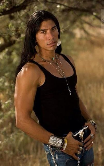 White Wolf: 8 - Adam Joaquin Gonzalez . Apache .  is an Actor known for: ' Freedom Riders' [2009] || Native And Proud: 11 Native American Men Celebrities With Long Hair