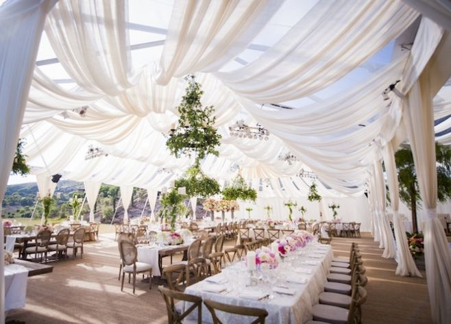 This gorgeous wedding reception took place last summer and for Beautiful places for a wedding