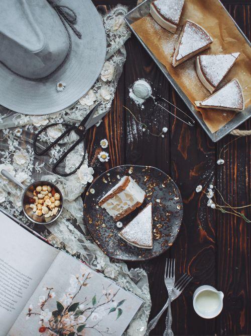 Диетический итальянский торт с рикоттой и грушами