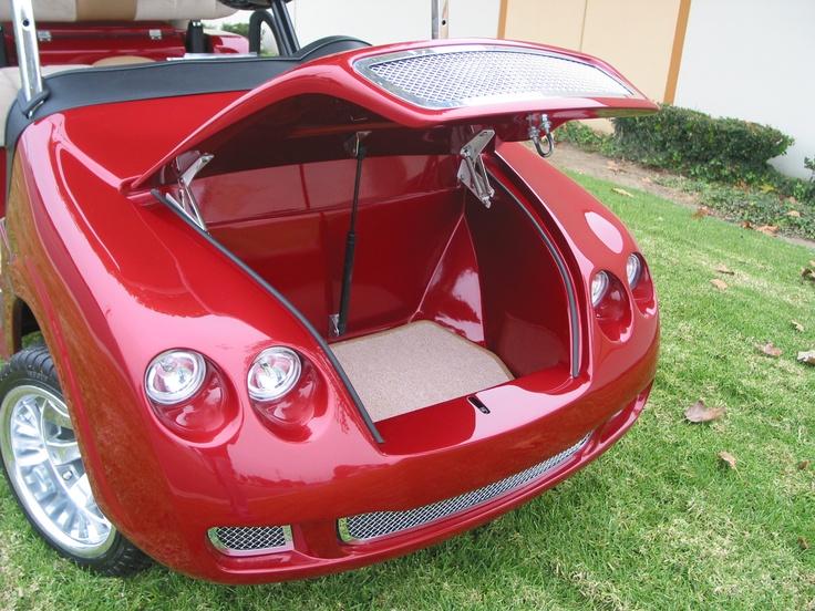 Bentley front body kit