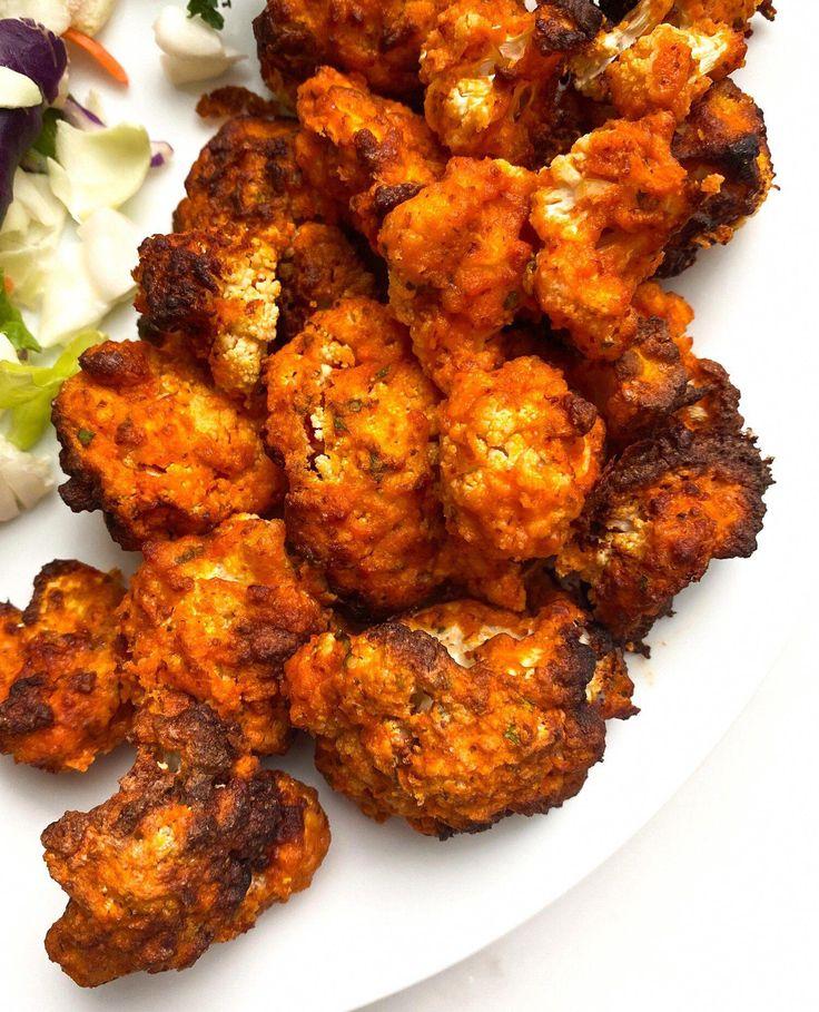 Air Fryer Buffalo Cauliflower Bites — Jess Dukes Recipes