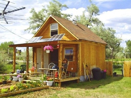 Author Builds Tiny Solar-Powered Off Grid Cabin for Under $2,000! | Inhabitat - Sustainable Design Innovation, Eco Architecture, Green Build...