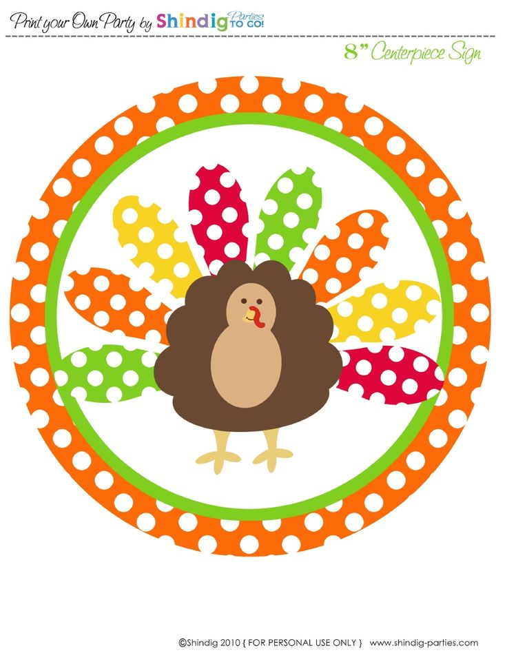 thanksgiving...cute free printables!