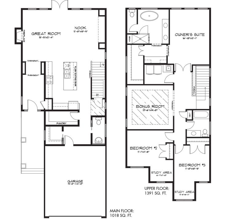 The Gracie floor plan from Pacesetter Homes