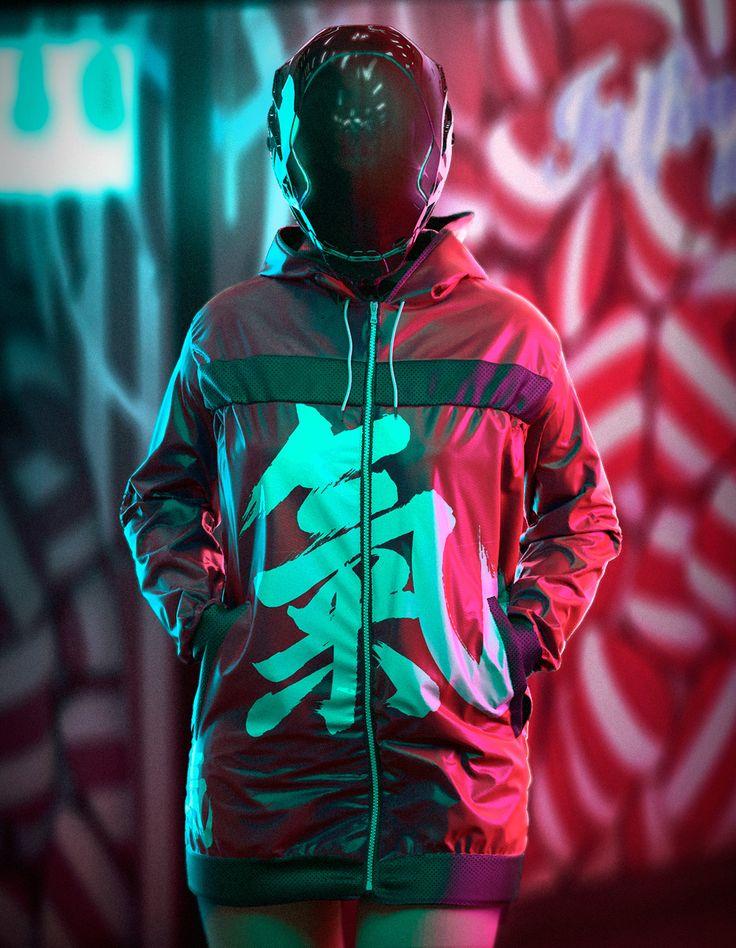 Urban Jacket., Oskar Woinski on ArtStation at https://www.artstation.com/artwork/DzEAE