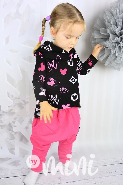 Minnie mikina - By Mini - moderní oblečení pro děti