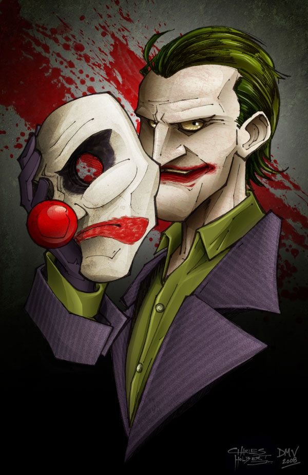 Behind the Mask by dmvcomics on deviantART