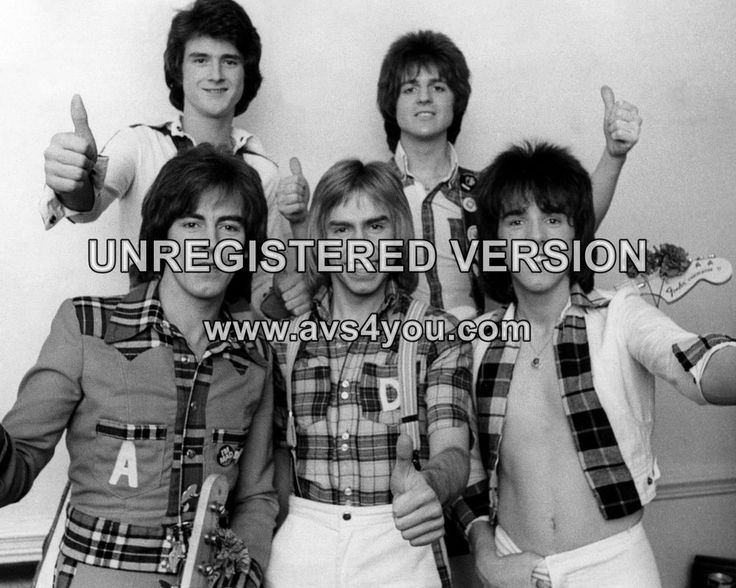 "Bay City Rollers 10"" x 8"" Photograph no 32"