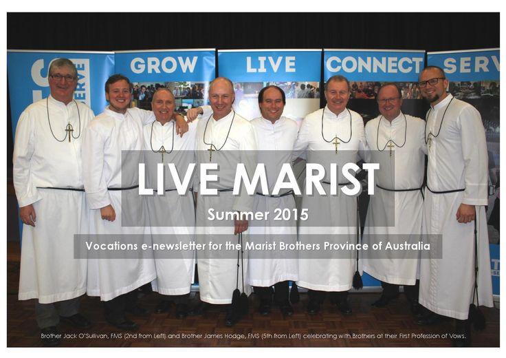 Livemaristsummer  Marist Brothers Vocations Newsletter Province of Australia