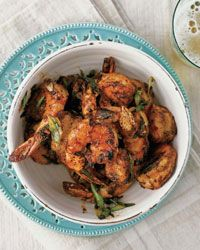 Bobby Flay's take on one of his favorites when he visited Savannah: Peel-and-Eat Shrimp with Barbecue Spices