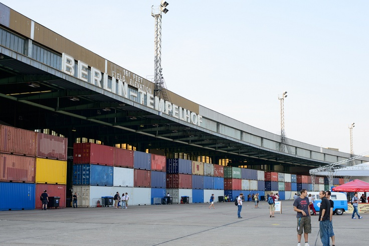 Tempelhof Airport!    The Internet Society invades Campus Party Europe!