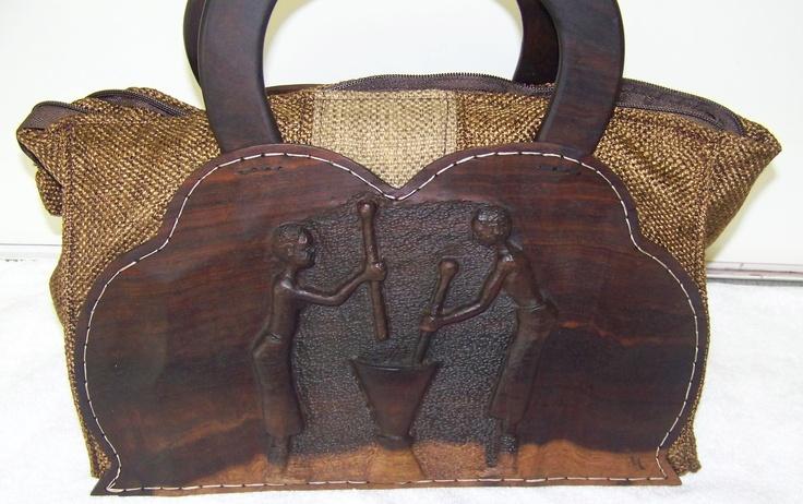 African handbag, one of its kind.....