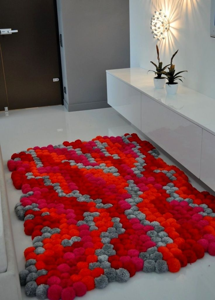 Best 25+ Pom pom rug ideas on Pinterest | Pom pom mat, DIY and ...