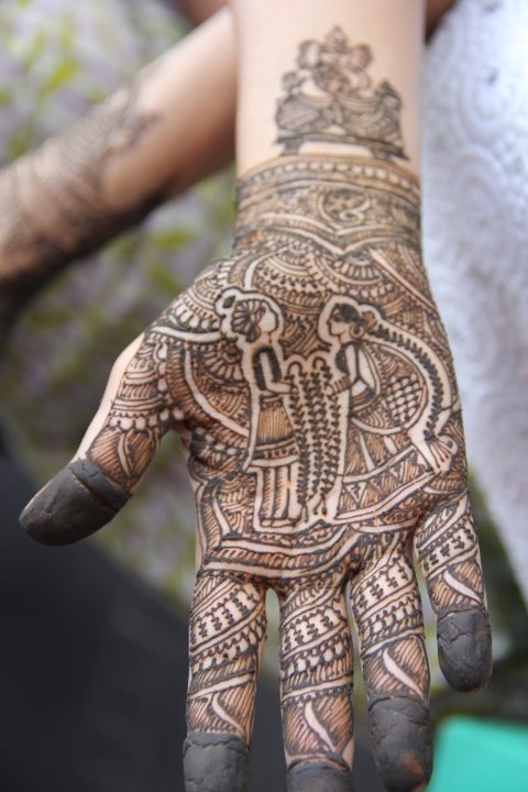 Mehendi  Love the bride & groom