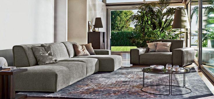 * Глубокий диван Monolith от фабрики Ditre * Deep sofa Monolith by factroy Ditre