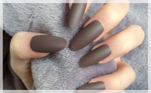 Oval Shaped Nails