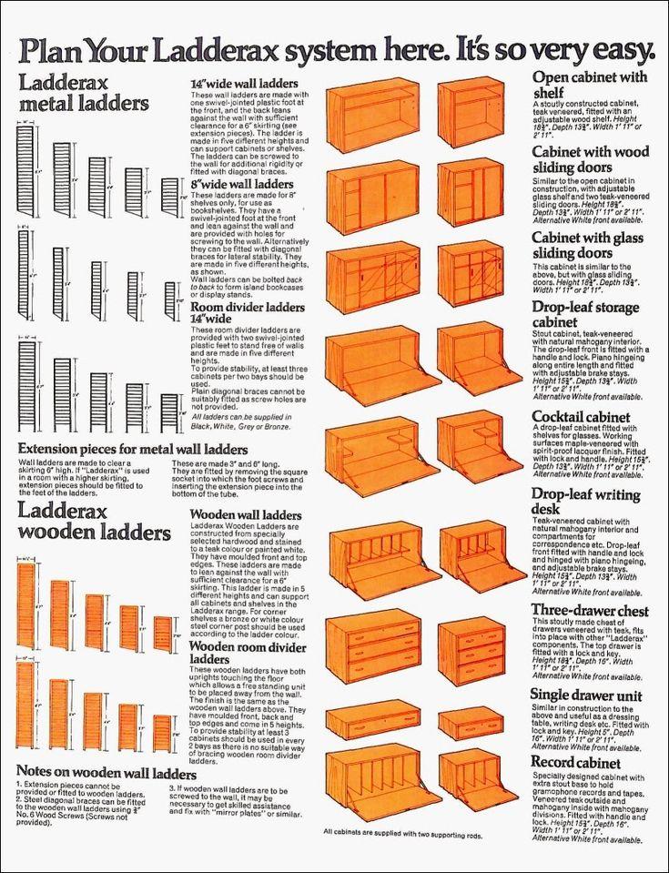 HHax Furniture: Ladderax literature