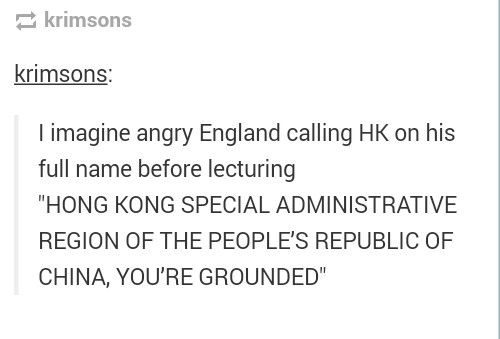 HONG KONG SPECIAL ADMINISTRATIVE REGION OF THE PEOPLES REPUBLIC OF CHINA, GO DO THE DISHES!!! JESUS CHRIST!